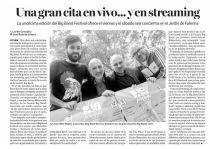 Una gran cita en vivo... y en streaming